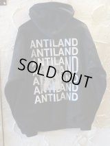 BONES AND BOLTS/HOODIE ANTILAND  BLACK