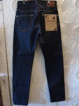 GANGSTERVILLE/THUG DENIM IRON CROSS SLIM  INDxRIGID BLACK