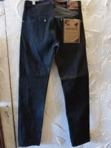 GANGSTERVILLE/THUG DENIM IRON CROSS SLIM  BLKxRIGID BLACK
