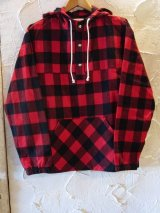 SUNNY C SIDER/US CHECK PULLOVER  RED