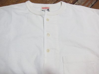 画像4: GLAD HAND(グラッドハンド)/HALF SLEEVE HENRY POCKET T  WHITE