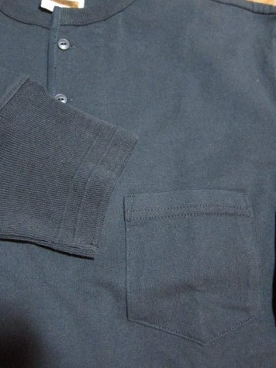 画像5: GLAD HAND(グラッドハンド)/HALF SLEEVE HENRY POCKET T  BLACK