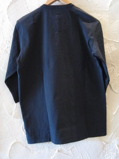 画像2: GLAD HAND(グラッドハンド)/HALF SLEEVE HENRY POCKET T  BLACK
