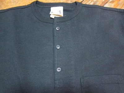 画像4: GLAD HAND(グラッドハンド)/HALF SLEEVE HENRY POCKET T  BLACK