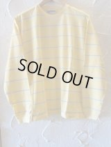 (DEAD STOCK) COREFIGHTER/BORDER L/S T  YELLOW