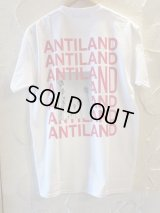 BONES AND BOLTS/TEE ANTILAND  WHITE