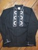画像3: RATS/EMBROIDERY SHIRT  BLACK (3)