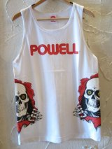 (DEAD STOCK)POWELL/TANK TOP BONE  WHITE
