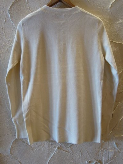 画像2: GLAD HAND(グラッドハンド)/GH THICK HENLY L/S T  WHITE