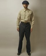 (SALE 30%OFF) BELAFOTE/RT WABASH TROUSERS  WABASH