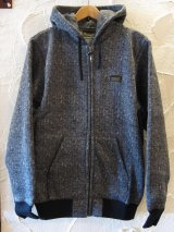 (DEAD STOCK) COREFIGHTER/TWEED ZIP  BLACK