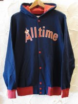 (DEAD STOCK) COREFIGHTER/ALLTIME HOOD  NAVY