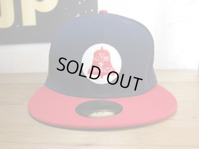 画像1: (DEAD STOCK)COREFIGHTER/BELL NEW ERA CAP  NAVYxRED
