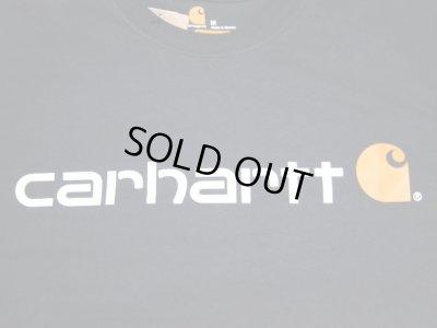 画像3: CARHARTT/LONG SLEEVE LOGO T  BLACK