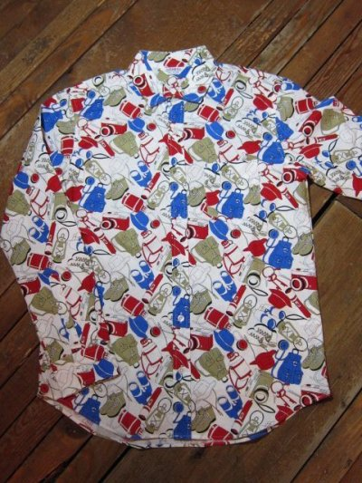 画像3: (SALE 30%OFF) VINTAGE EL/OUTDOOR PRINT L/S SHIRTS  GOODS
