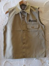 GANGSTERVILLE(ギャングスタービル)/SUCAL WORK VEST  BEIGE