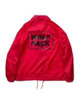ROTTWEILER/WOLF PACK COACHES JKT  RED