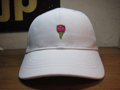 画像1: BELIVE/LOW CAP WAPPEN  ICE CREAM  WHITE