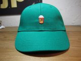 (SALE 20%OFF) BELIVE/LOW CAP WAPPEN  POPCORN  GREEN