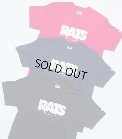 画像3: (先行予約)RATS/BOX LOGO T  BLACK