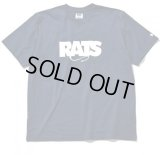 (先行予約)RATS/BOX LOGO T  NAVY