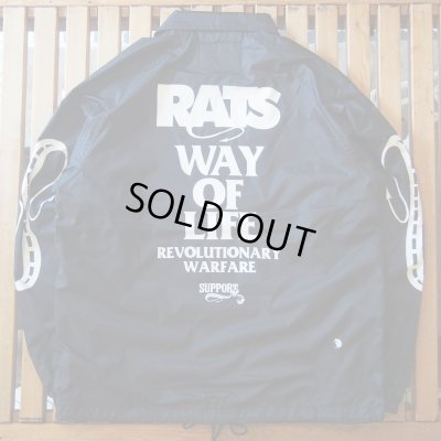 画像2: RATS/COACH JKT REPRINT  BLACK