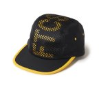 FTC/MESH CAMP CAP  BLACK