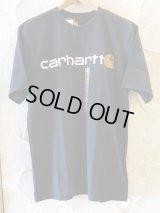 CARHARTT/SHORT SLEEVE LOGO T  BLACK