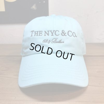 画像2: 68&BROTHERS/6PANEL TWILL CAP THE NYC&CO  AQUA