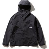 THE NORTH FACE/COMPACT JACKET BLACKxWHT