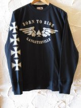 GANGSTERVILLE/THUG RIDE LS T  BLACK