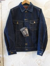 GANGSTERVILLE/THUG RIDE DENIM JACKET  INDIGO
