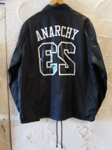 (SALE 30%OFF) SUNNY C SIDER/ANARCHY COACH JKT  BLACK
