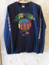 (SALE 30%OFF) SUNNY C SIDER/xJEFF HO LS T  NAVY