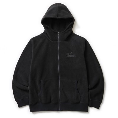 画像1: SOFTMACHINE/GOD FLEELE HOODED  BLACK