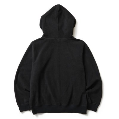 画像2: SOFTMACHINE/GOD FLEELE HOODED  BLACK