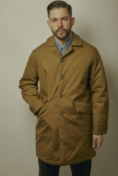 画像1: BELAFOTE/RT COLUMBO RAIN COATS  A.GREEN