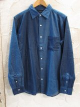 VINTAGE EL/6.5oz DENIM CRAZY SHIRT  INDIGO