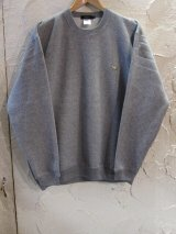 BELIVE/LEFT CHEST PATCH SWEAT  TRICERATOPS  GRAY
