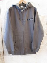 (再入荷) Feel FORCE/ZIP PARKA BANNER  CHARCOAL