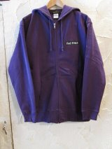 Feel FORCE/ZIP PARKA BANNER  PURPLE