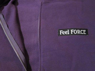 画像3: Feel FORCE/ZIP PARKA BANNER  PURPLE