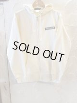 Feel FORCE/ZIP PARKA BANNER  OFFWHITE