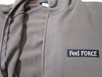画像3: (再入荷) Feel FORCE/ZIP PARKA BANNER  CHARCOAL