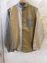 GYMMASTER/STRETCH HERRINGBONE SHIRTS JKT CRAZY