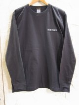 Feel FORCE/LONG SLEEVE  BANNER  S.BLACK