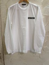 Feel FORCE/LONG SLEEVE  BANNER  WHITE