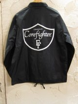COREFIGHTER/LOSANGELS CF COACH  JKT  BLACK