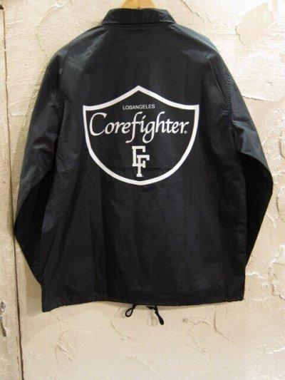 画像1: COREFIGHTER/LOSANGELS CF COACH  JKT  BLACK