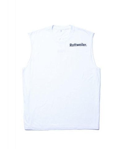 画像1: ROTTWEILER/RW CUT OFF T  WHITE
